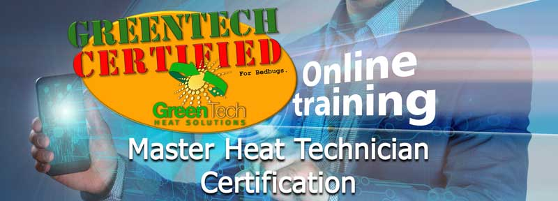 bed bug heat system certification