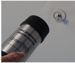 fire sprinkler protection for heat treatments